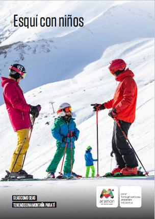 portada guia esqui con niños